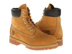 Timberland 10061 6 Inch Premium Men's Work Boots Wheat Nubuc
