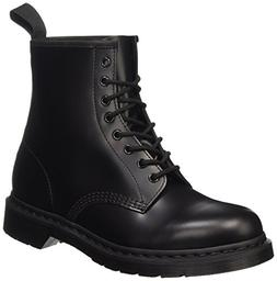 Dr. Martens Unisex 1460 8-Tie Lace-Up Boot,Black Smooth,UK 6
