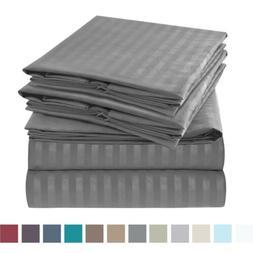 Jennifer Stewart 1800 Series 6 Piece Bed Sheet Set High-Qual