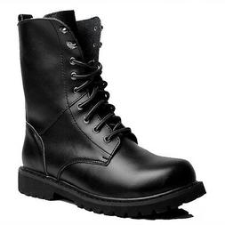 2 Color Fulinken Size 5-13 Leather Tactical Combat Ankle Boo
