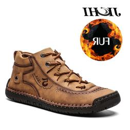 2019 Winter Shoes <font><b>Men</b></font> Warm <font><b>Leat