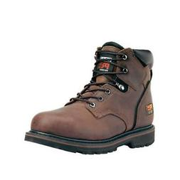 """Timberland Pro 33034 6"""" Pit Boss Steel Safety Toe EH Rated"""