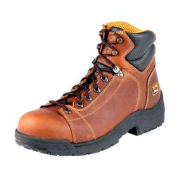 Timberland 50506 PRO Mens TiTAN Lace Steel Toe Brown Work Bo