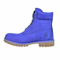 Timberland 6 Inch Premium Waterproof Men's Blue Boots tb0a1p