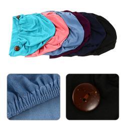 6Pcs Soft Gourd-Shape Caps Stretch Hats Pretty Turban Headba