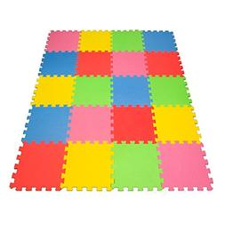 Angels 20 XLarge Foam Mats Toy ideal Gift, Colorful Tiles Mu