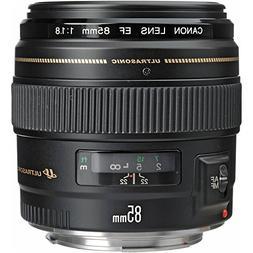 Canon EF 85mm f/1.8 USM Medium Telephoto Lens for Canon SLR