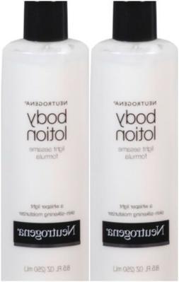 Neutrogena Sheer Oil-Lotion, Skin-Silkening Moisturizer 8.50