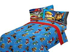 Nickelodeon Paw Patrol Kids Bedding Soft Microfiber Sheet Se