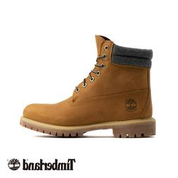 A1QZG Timberland Men's 6 Inch Premium Boot Leather wheat All