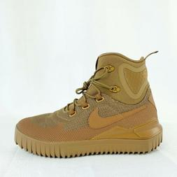Nike Air Wild Golden Beige Ale Brown Hiking Trail Boots 9168