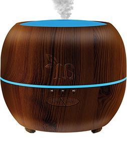 Artnaturals Essential Oil Diffuser, Dark Brown, 5.1 Fluid Ou
