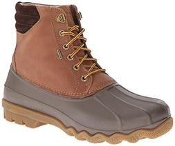 Sperry Men's Avenue Duck Rain Boot, tan/Brown, 13 M US
