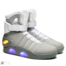 BACK TO THE FUTURE WARRIOR BASKETBALL LED LIGHT SHOES KEY CH
