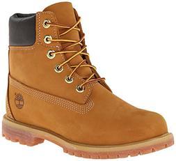 Timberland Women's 6-Inch Premium Boot,Wheat,7.5 M US
