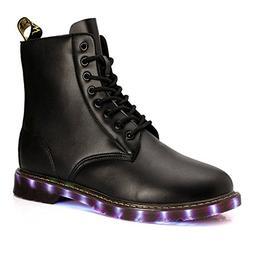 Fashion High Top LED Boots USB Charging Led Light Up Adult S
