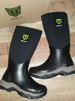 TideWe Boots Waterproof Insulated Neoprene Rubber Boot Size