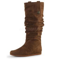 Brown Highlander Braveheart Renaissance Fair Costume Boots M