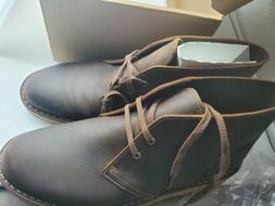 Clarks Men's Bushacre 2 Boot,Black Suede,9.5 M US