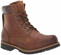 Timberland Men's Earthkeepers Rugged Boot, Red Brown, 10 M U