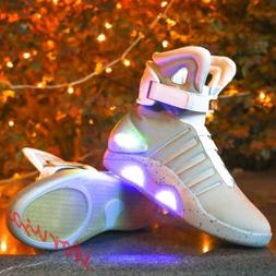 Fashion Sneaker Men The Future Warrior High Top USB Charge L