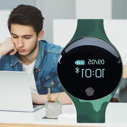 Fingerprint <font><b>Boot</b></font> IOS Android Smart Watch