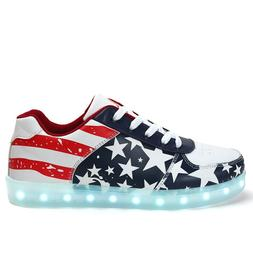 <font><b>Led</b></font> Light Up Glowing Sneakers for kids a