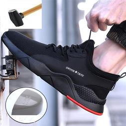 <font><b>Men's</b></font> Steel Toe Work Safety Shoes <font>