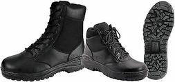 """Forced Entry 8"""" or 6"""" Black Tactical Boot - Security, Police"""