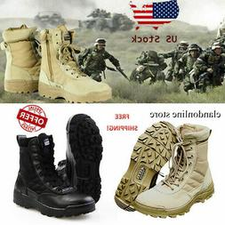Forced Entry Tactical Boots Leather Non-slip Military SWAT B