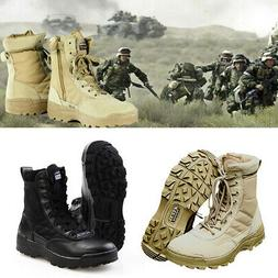 Forced Entry Tactical Boots Leather Non-slip Military SWAT D