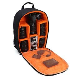 G-raphy Camera Bag Camera Backpack with Rain Cover for DSLR