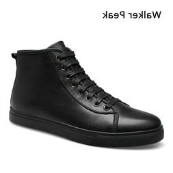 Genuine Leather Ankle <font><b>Boots</b></font> for <font><b