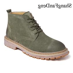 Genuine Leather <font><b>Men</b></font> <font><b>Boots</b></