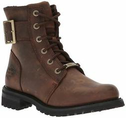 Harley-Davidson Women's SYLEWOOD Motorcycle Boot Brown 11 M