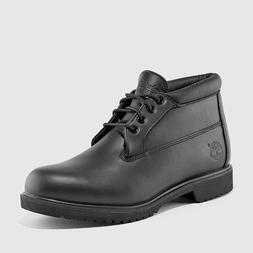 Timberland Icon Chukka Mens Waterproof Boots New Shoes Black