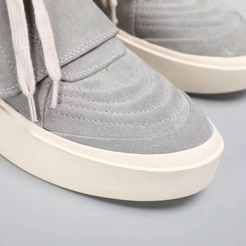 2019 New Arrival Platform Cow suede top Motorcycle Black sneaker FLash <font><b>LED</b></font> toe Shoes