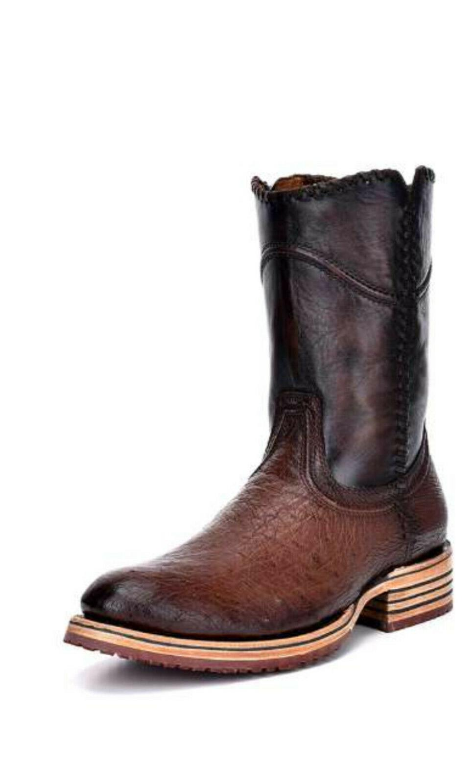 3p02ab smooth ostrich boots
