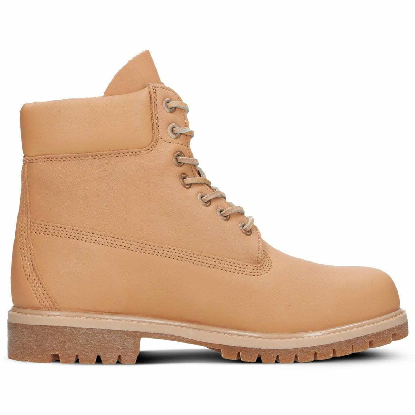 Timberland Inch Release Premium Leather Natural Boots