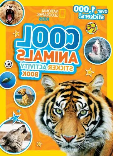 National Geographic Kids Cool Animals Sticker Activity Book: