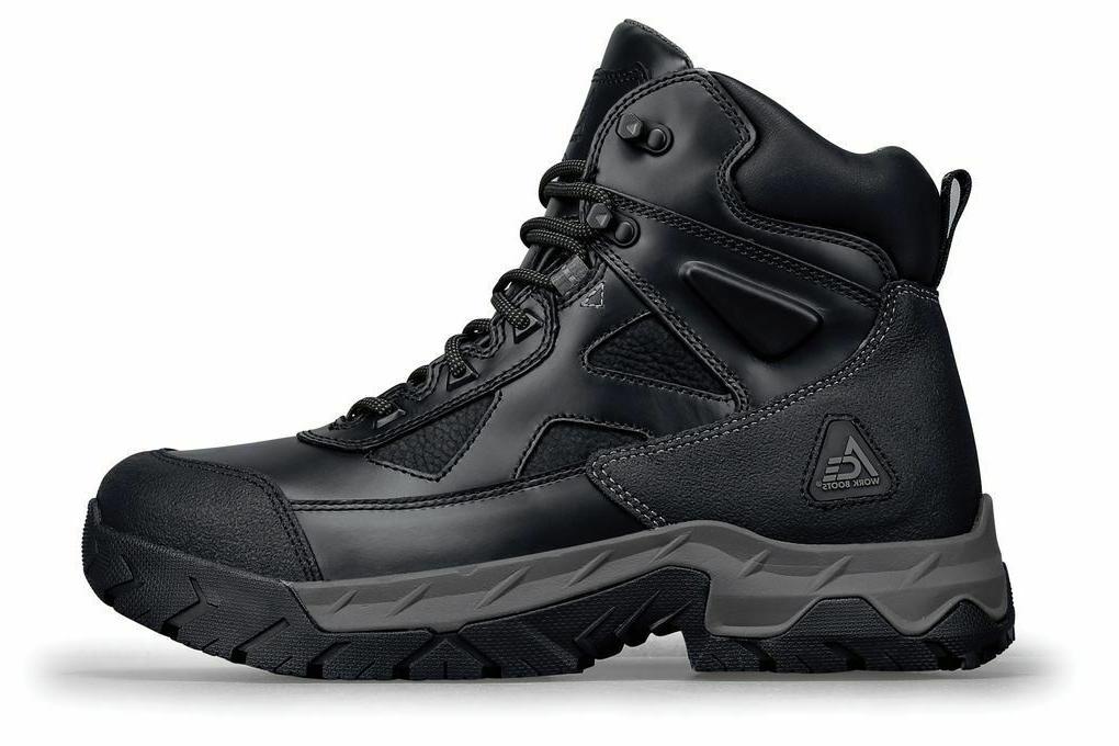 Ace Shoes Men's Glacier Toe Slip Work Boots