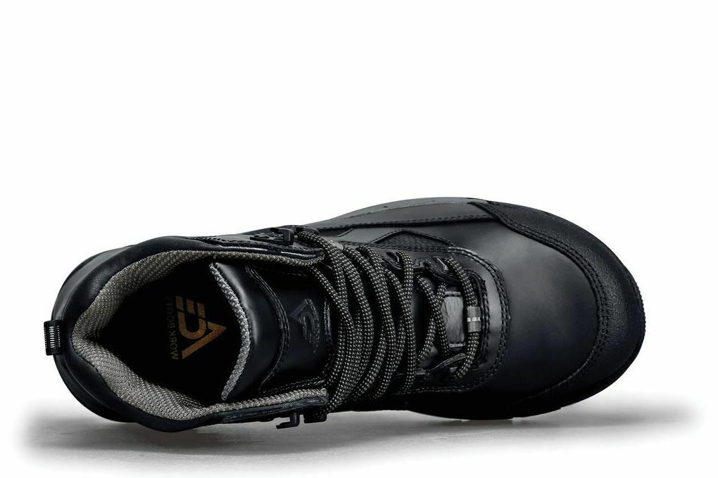 Ace Shoes for Crews Slip Resistant Leather Boots