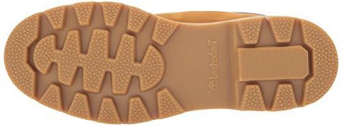 Timberland Boot-Contrast Wheat Nubuck, 10