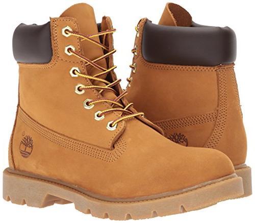 Timberland Boot-Contrast Collar,