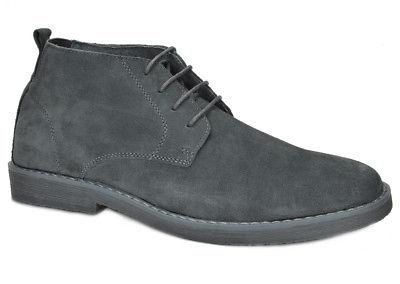 Bruno Suede Leather Oxfords Ankle