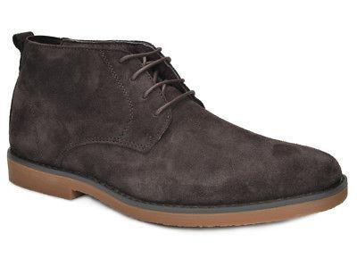 Bruno Marc Suede Classic Oxfords Ankle