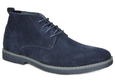 Bruno Mens Suede Leather Oxfords