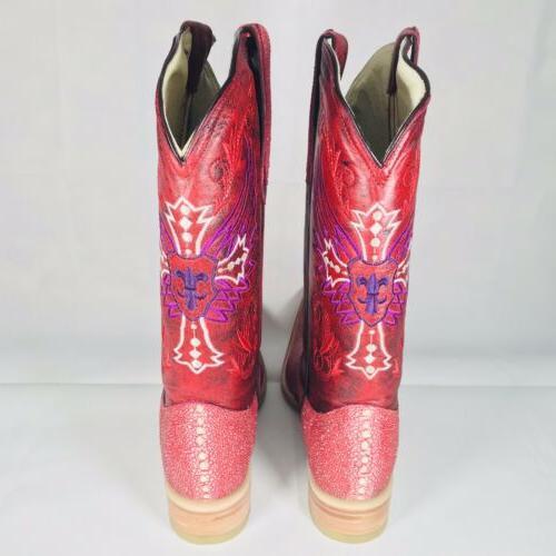 Carreta Boots Size 8 US 27 Mexico In Box