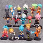 Dragon Ball Z Vegeta Son Goku 16 PCS Mini Action Figure Cake