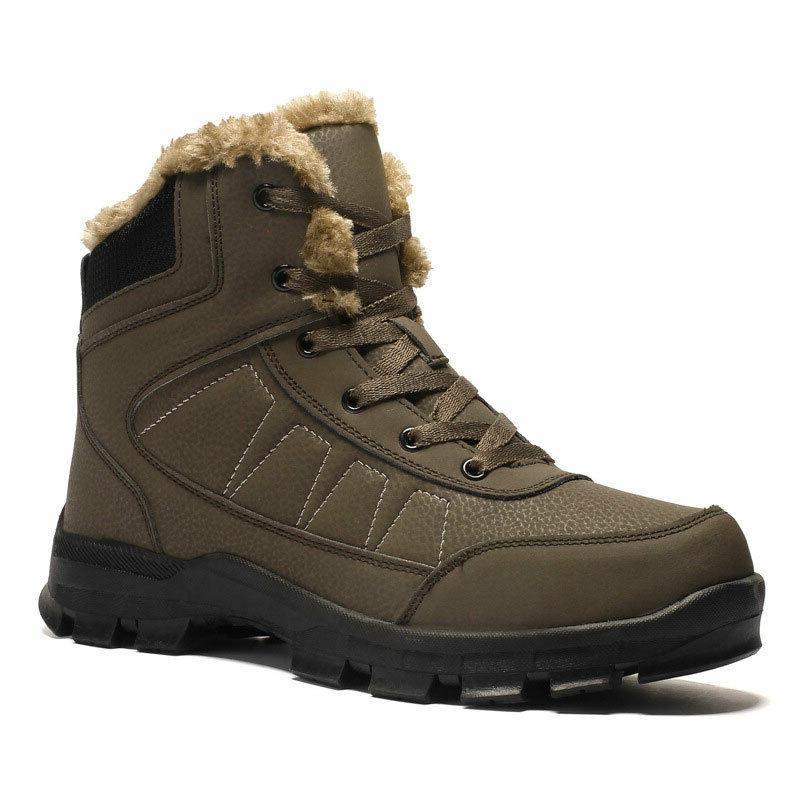 Fashion Men's Lace Up Comfort Shoes Winter Warm Boots